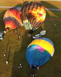 A Hot Air Balloon Ride
